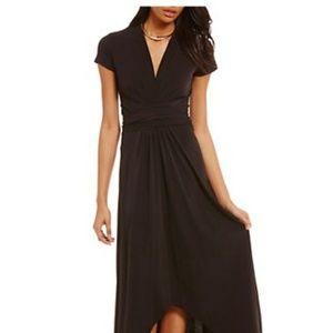 MIchael Kors. Matte Jersey,  High-Low Dress.  Sz 6